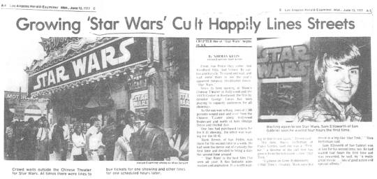 Star Wars Article 1977