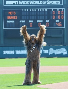 Star Wars-Atlanta Braves spring training (5)