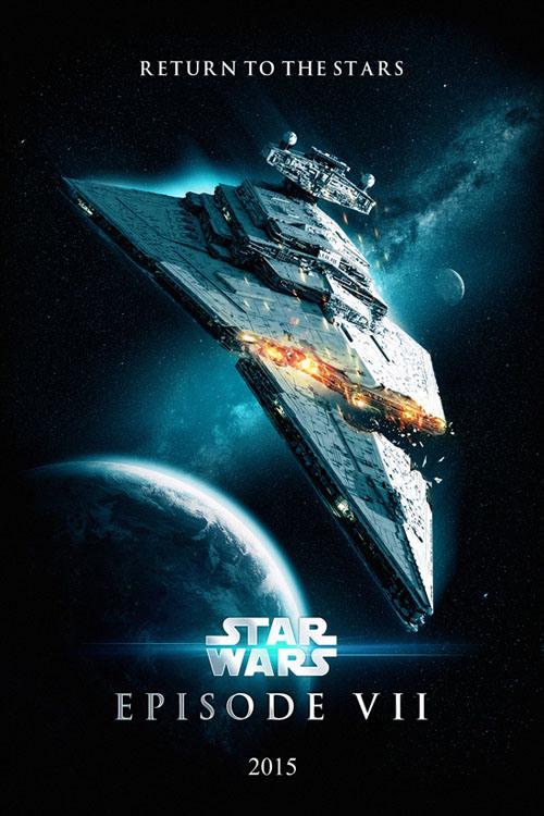 Star Wars Episode VII fan poster (1)