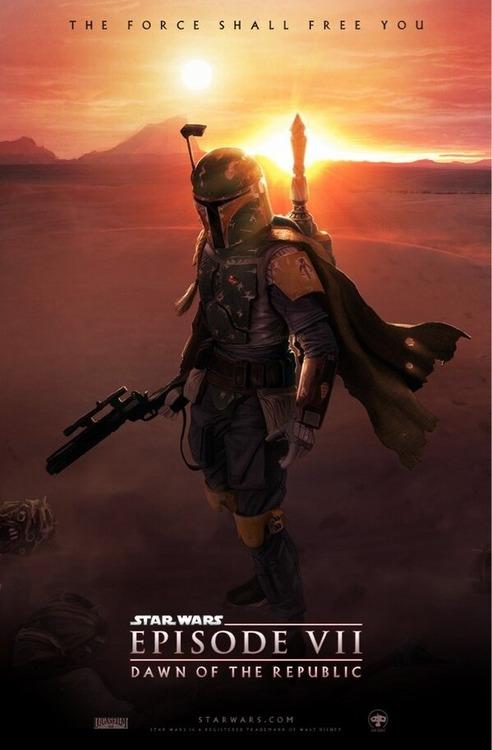 Star Wars Episode VII fan poster (2)
