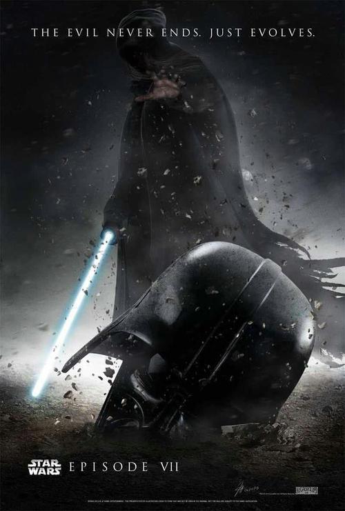 Star Wars Episode VII fan poster (3)