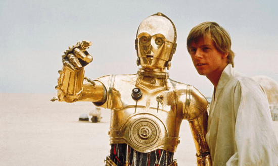 Star Wars - Luke Skywalker and C3PO