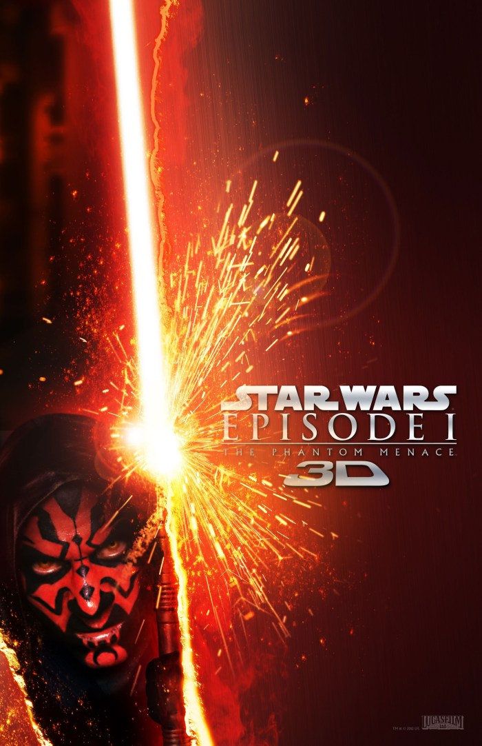 Star Wars Phantom Menace 3D 3