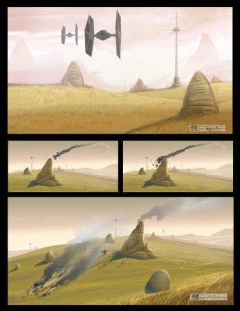 Star Wars Rebels - concept art 2