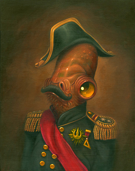 Steven Daily - Star Wars Admiral Akbar Magnitude