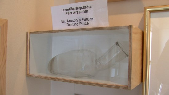 Páll Arason's empty penis specimen jar from Drafthouse Films' The Final Member. Courtesy of Drafthouse Films.