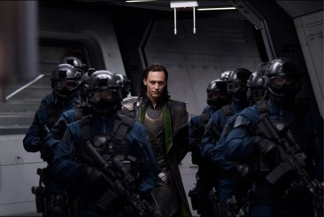 The Avengers Loki Capture