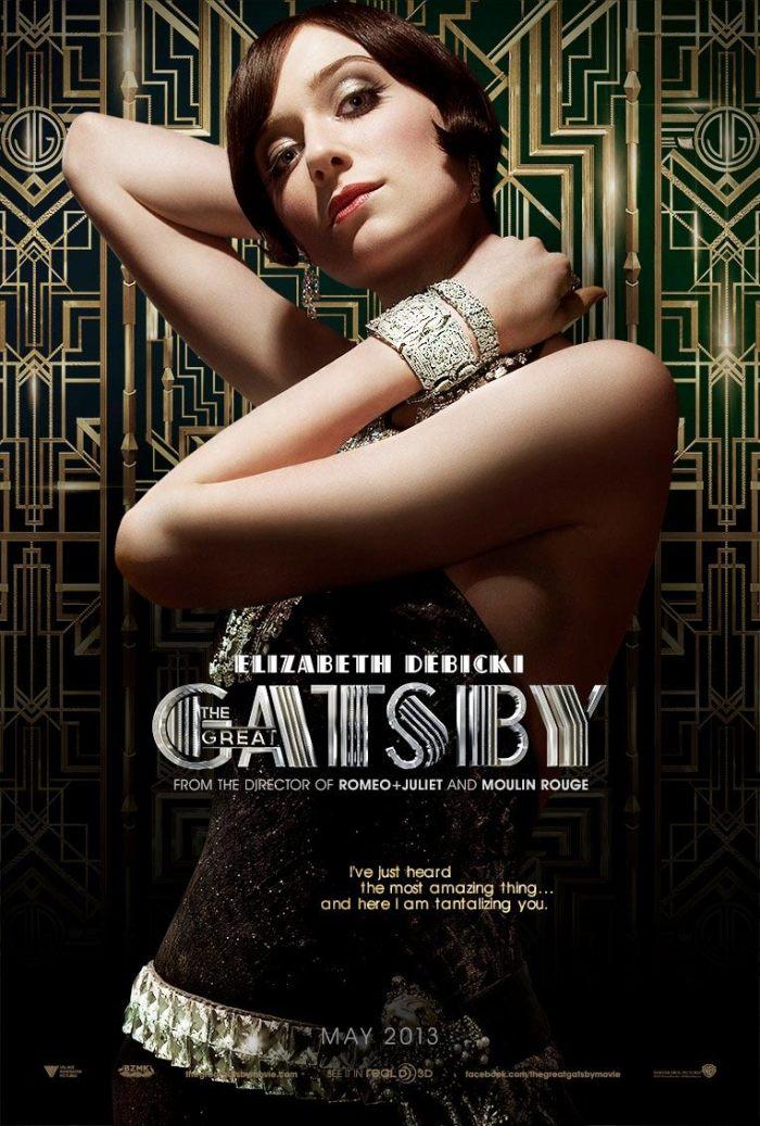 The Great Gatsby - Elizabeth Debicki as Jordan