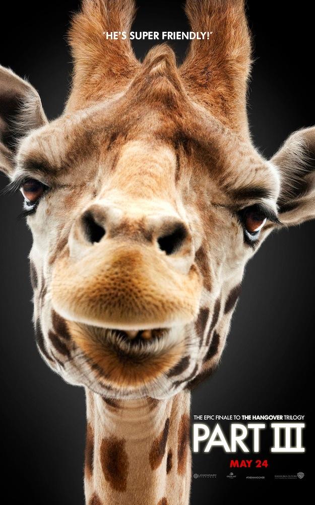 The Hangover Part III giraffe