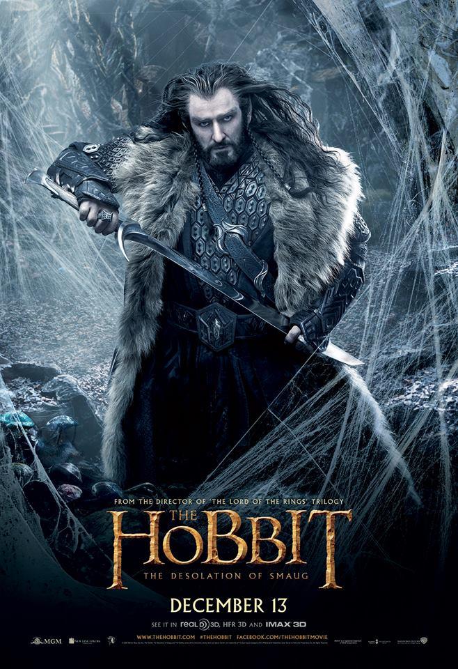 The Hobbit The Desolation of Smaug - Thorin