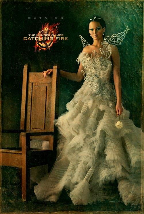 The Hunger Games Catching Fire - Katniss portrait