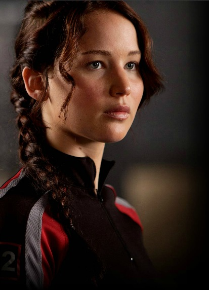 The Hunger Games - Jennifer Lawrence as Katniss Everdeen