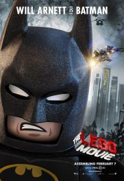 The Lego Movie poster - Batman