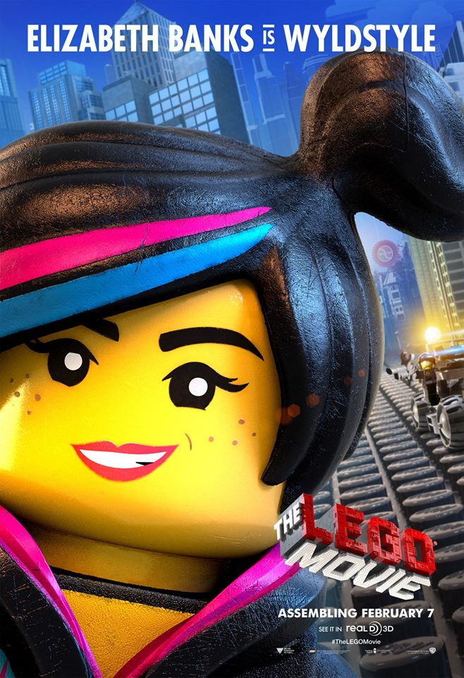 The Lego Movie poster - Wyldstyle