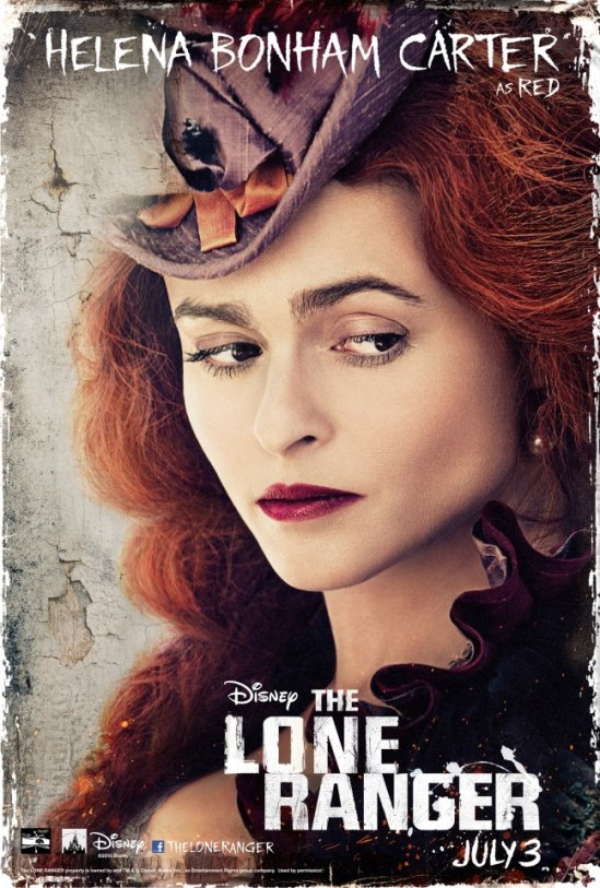 The Lone Ranger - Helena Bonham Carter as Red