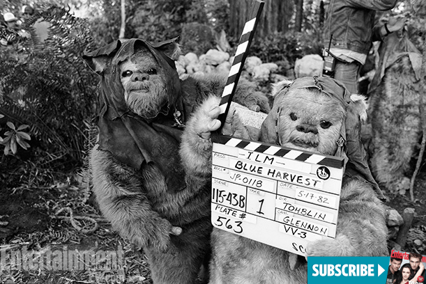 The Making of Star Wars Return of the Jedi - Ewoks