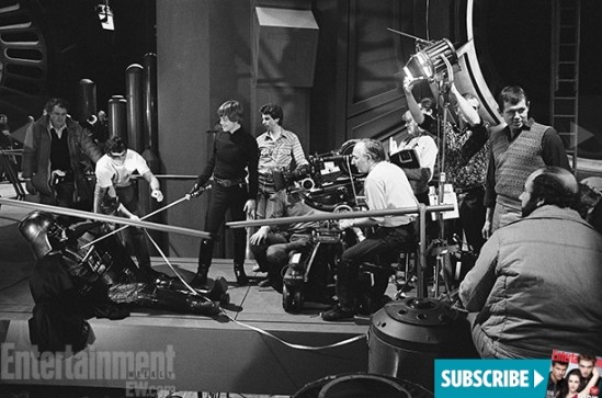 The Making of Star Wars Return of the Jedi - Mark Hamill and Richard Marquand