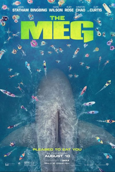 'The Meg' Trailer: It's Jason Statham vs. A Giant Shark