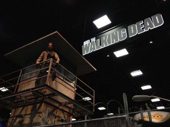 The Walking Dead - booth