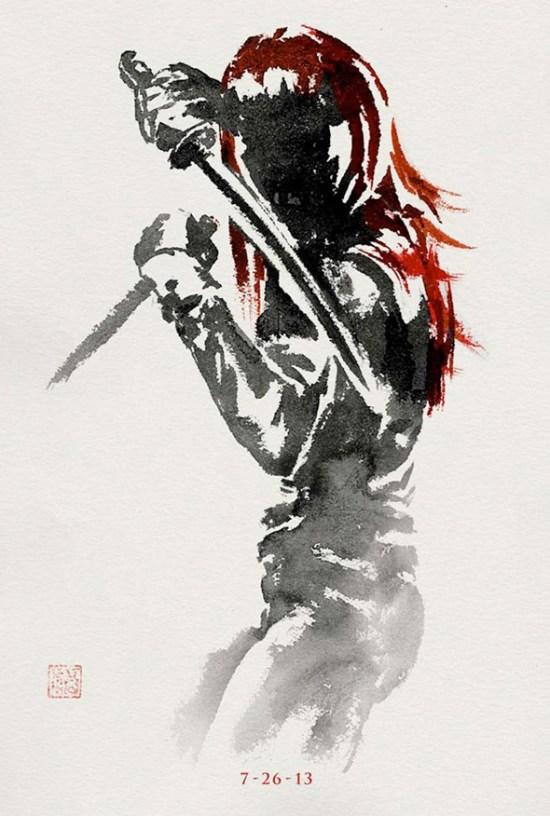 The Wolveirne - Yukio poster