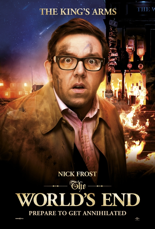 The Worlds End - The King's Arms (Nick Frost)