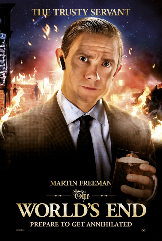 The Worlds End - The Trusty Servant (Martin Freeman)