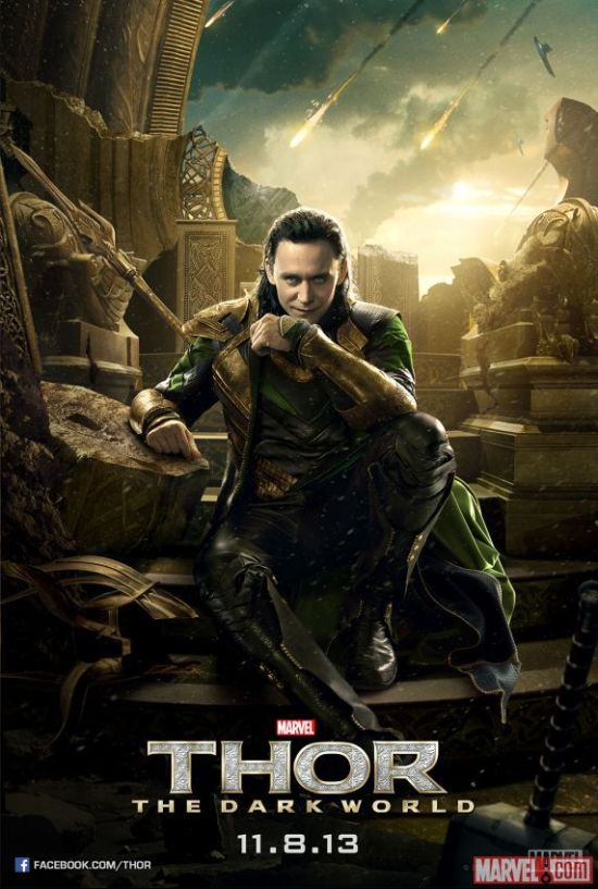 Thor Dark World Loki Poster