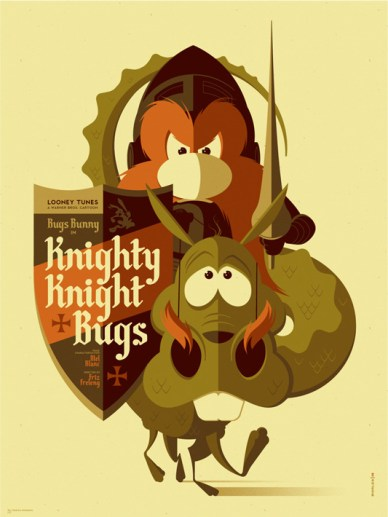 Tom Whalen - Knighty Knight Bugs