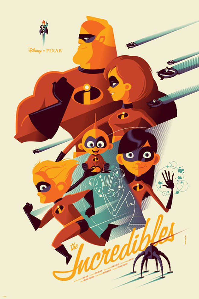 Updated posters from mondo 39 s official disney art show - Posters y vinilos ...