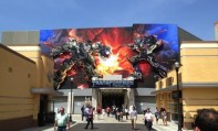 Transformers The Ride 3D entrance