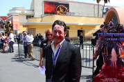 Transformers The Ride 3D grand opening - Peter Cullen