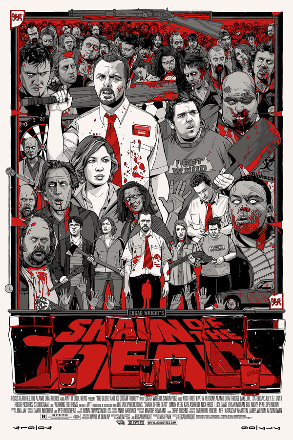 Tyler Stout - Shaun of the Dead Variant