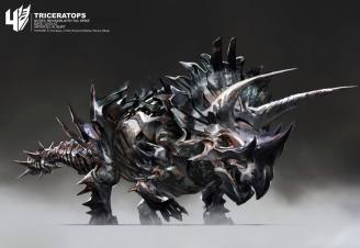 Wesley Burt - Triceratops