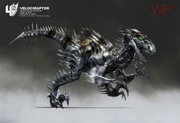 Wesley Burt - Velociraptor