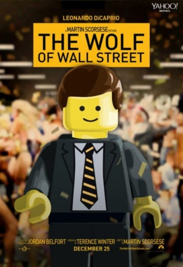 Wolf of Wall Street Lego