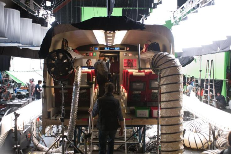 Wolverine BTS Train