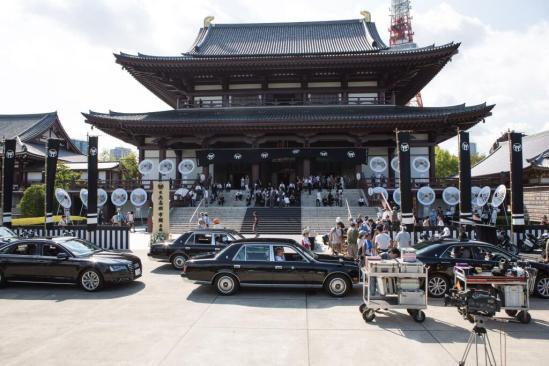 Wolverine BTS funeral