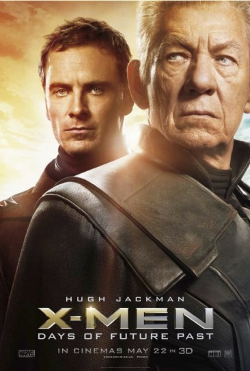 X-Men Days of Future Past poster Magneto