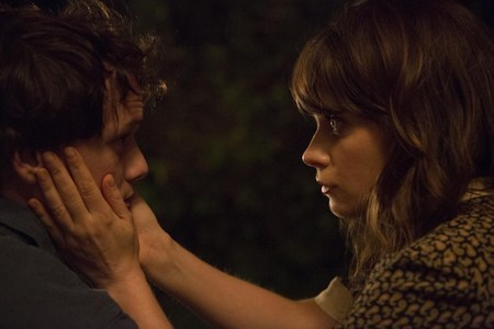 Zooey Deschanel and Anton Yelchin in 'The Driftless Area'