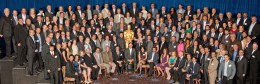 84th Academy Awards nominees group photo