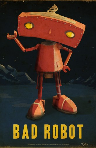 Bad Robot Poster