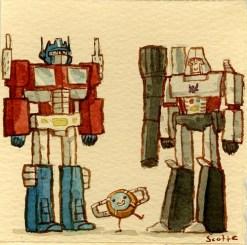 Scott C's Great Showdown tribute to Transformers: The Movie