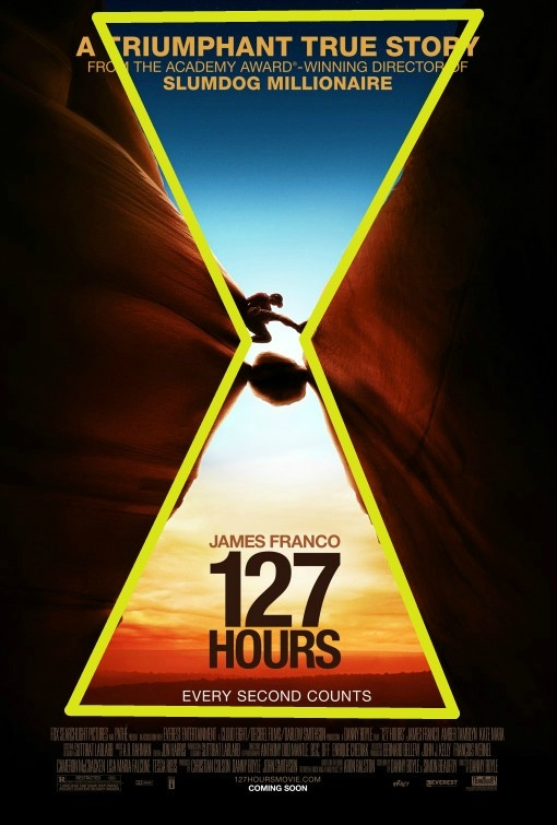 The Genius of the poster for 127 Hours