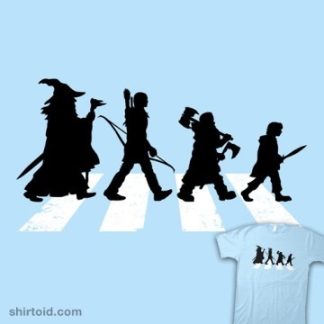 Mordor Road t-shirt