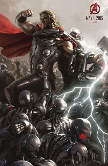 Hulk - Avengers 2 concept art poster