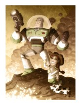 "Otis Frampton's ""Buzz Lightyear and Jessie"" - Toy Story"