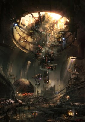 Star Wars 1313 concept art