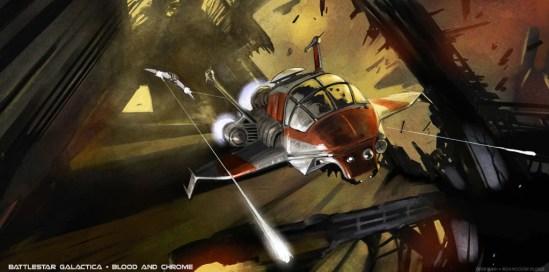 Concept Art: Battlestar Galactica: Blood and Chrome