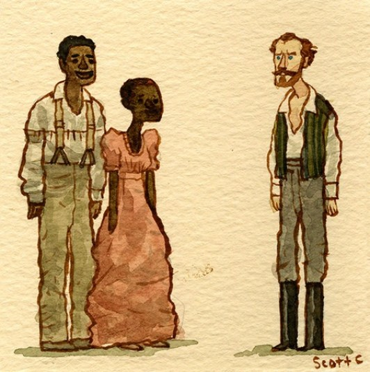 Scott C's Great Showdown tribute to 12 Years A Slave