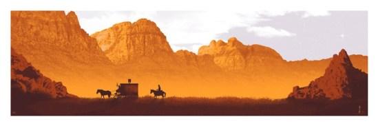 DJANGO UNCHAINED by artist Mark Englert